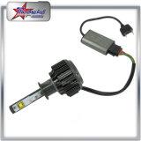 Único bulbo do farol do diodo emissor de luz do feixe 9005 para a motocicleta 3600lm do carro