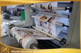 Impresora flexográfica de alta velocidad de 6 colores con Anilox de cerámica