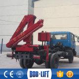 Sq3.2za2 이동할 수 있는 Foldable 유압 트럭에 의하여 거치되는 기중기