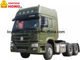 Camion 6X4 d'entraîneur de Sinotruk HOWO 371HP pour des camions de remorque