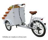 新しいデザインペダルのバスケットの三輪車の生産者