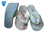Ladies Spring Soft EVA chinelo interior com flores