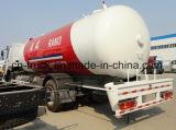 트럭 10ton 가스 납품 트럭 탱크를 다시 채우는 Sino 6X4 24m3 HOWO
