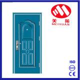 Puerta exterior del hierro de acero de la pintura del polvo para la puerta del proyecto