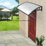 O toldo ao ar livre da máscara do patamar do abrigo da chuva do dossel da porta resiste UV protege a luz solar (YY1000-C)