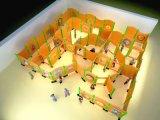 壁の演劇のSilmeの円形の木のボード