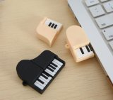 Creative Music Model Cartoon USB Stick PVC Violín Thumb Drive