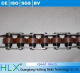 Cadeia de fabricação perfil do alumínio da corrente da velocidade da série