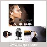 Fone de ouvido sem fio estereofónico da em-Orelha dos auriculares de Bluetooth V4.1 Earbud dos esportes mini