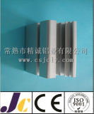 Profil de l'extrusion d'aluminium avec revêtement en poudre avec couleur différente (JC-C-90010)