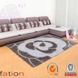 Tapete Shaggy da alta qualidade macia super contemporânea da decoração da HOME do tapete de área