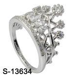 새로운 도착 크라운 디자인 925 은 보석 반지 도매