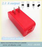 고품질 2ports USB를 가진 접히는 벽 충전기