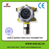 Detetor de gás fixo do monitor em linha 4-20mA H2 do gás tóxico da exaustão da produção industrial