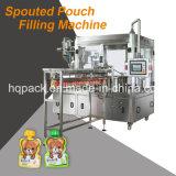 macchina di riempimento e di coperchiamento del sacchetto a forma di 90g per la gelatina di frutta
