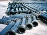 Plástico sólido UHMW-PE Tubo de gas anti corrosión