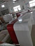 Tableau de marbre artificiel au détail à haute brillance d'étalage de téléphone cellulaire