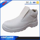 Utex Microfiber 하얀 가죽 빛 안전 단화 Ufa127