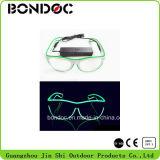 Óculos de sol de piscamento elegantes do diodo emissor de luz do partido dos vidros do diodo emissor de luz