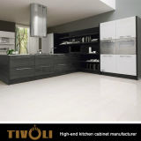 Дешевый кухонный шкаф кухни ламината Veneer с изготовленный на заказ шкафами Tivo-0297h