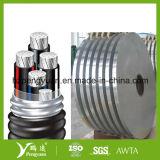 Elektrischer Draht u. Kabel, die Al/Pet verpacken