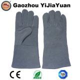 Gants en cuir de travail de sûreté de protection de soudure de main de la CE EN407
