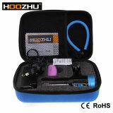 최신 판매! ! ! Hoozhu V13 크리 사람 Xml L2 LED 최대 2600 루멘 급강하 영상 빛