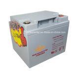 batería solar 12V38ah con el equipo de la automatización y del control