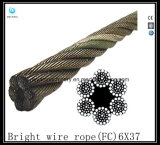 6X26 Iwrc Impact Swaged Wire Rope Eips
