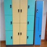 Armario para el vestuario, armario de 3 puertas del vestuario
