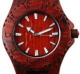 Reloj de madera de la manera de madera natural de los hombres del 100%
