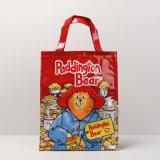 Roter NylonPaddington Bär kopiert Einkaufstasche (A072-1)