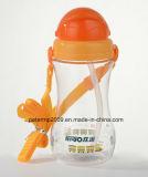бутылка воды для фидера бутылки babyfood, желтая бутылка горячего сбывания 500ml пластичная воды цвета