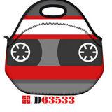 Sacchetto freddo del sacchetto di picnic isolato modo del sacchetto di Tote del pranzo del neoprene con la chiusura lampo & le maniglie