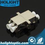 Tipo duplex del metallo di LC dell'adattatore di fibra ottica