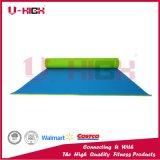 Estera dual de Pilates de la estera de la yoga del PVC de los accesorios de la yoga del color