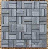 Картина мозаики камня базальта Китая серая