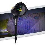 Luces laser al aire libre del disco LED del paisaje del jardín de la punta del laser de la decoración de la boda