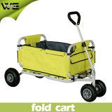 Carro de compra portátil do caminhão de mão do supermercado com rodas