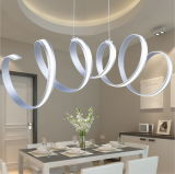 Luz de teto circular decorativa do diodo emissor de luz do acrílico