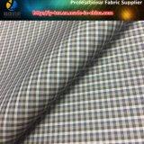 ポリエステルヤーンのジャケットかウインドブレイカーまたは衣服またはライニング(YD1174)のための染められた小型小切手ファブリック