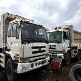 De gebruikte Vrachtwagen van de Stortplaats van de Lading van LHD Nissan Ud Zware met V8~Diesel~Engine