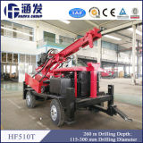 Type équipement de remorque de Hf510t de foret de puits d'eau