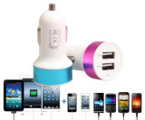 ABS 5V 3100mA Dual USB Car Charger Adapter