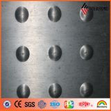 3m m, 4m m, el panel compuesto plástico de aluminio de perforación de 5m m