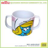 Baby BPA geben unzerbrechliches Melamin-Cup mit Griff frei