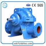 Pompe à eau fendue d'enveloppe de double aspiration de bonne qualité avec électrique