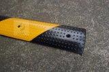 bulten van de Weg van 1000*10*2mm de Gele en Zwarte Rubber
