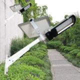 SL1-34 12W impermeabilizan IP65 para al aire libre todo en una luz solar de la calle LED