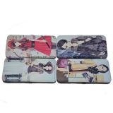 Drucken PU-Mappe mit Metallrahmen/Dame Case Wallet